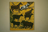 Cows and One Horse