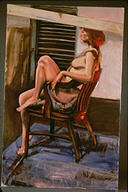 Studio Study of Woman in Chair