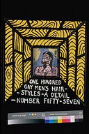 One hundred gay men's hairstyles - A detail: Number fifty seven