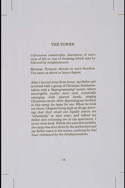 Invert, Oracle: Father, The Tower