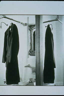 Black Coat Reflected
