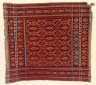 Textile, tampan, food covering. Indonesia