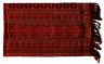 Textile, 'utang mitang, panel. Indonesia