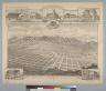 Bird's-eye view of Alosta, Los Angeles Co[unty], Cal[ifornia] Jan[uary] 1888