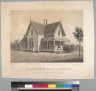 Residence of C .L. Parish, Jackson, Amador Co[unty], Cal[ifornia]