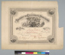 Society of California Pioneers [certificate]