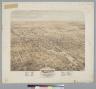 Bird's-eye view of the city of Stockton, San Joaquin County, California, 1870