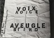 Aveugle Voix