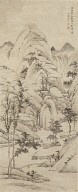 Landscape (in the manner of Lu Kuang (active ca. 1325-1359))