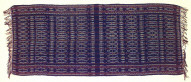 Textile, selimut?, shawl for wrapping the dead?. Indonesia
