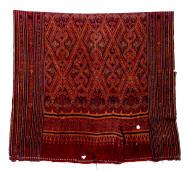 Textile, pua, ceremonial blanket. Malaysia