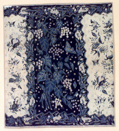 Textile, sarong, child's clothing. Indonesia