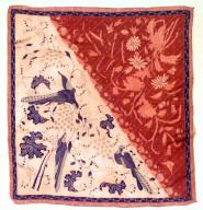 Textile, scarf?. Indonesia