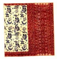 Textile, sarong, man's clothing. Indonesia