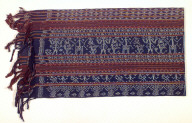 Textile, kain sikka, sarong, woman's clothing. Indonesia