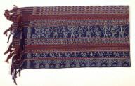 Textile, kain sikka, sarong, woman's clothing. Indonesia