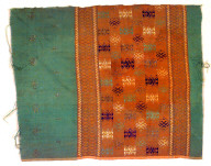 Textile, man's hip cloth. Indonesia