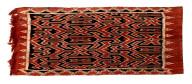Textile, ma'aa sekkomande, wall hanging, funeral shroud. Indonesia