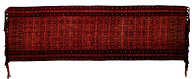 Textile, luka semba, ceremonial headcloth or dance shawl. Indonesia