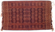Textile, semba, ceremonial shawl. Indonesia