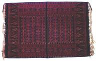 Textile, semba, man's shoulder cloth. Indonesia
