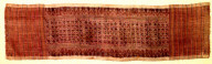 Textile, bebali?, token textile for ritual use. Indonesia