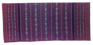 Textile, zawo, woman's sarong. Indonesia