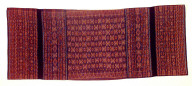 Textile, lawo, woman's sarong. Indonesia