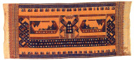 Textile, tatibin, ship cloth, wall decoration or gift wrap. Indonesia