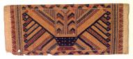 Ceremonial textile, tatibin. Indonesia
