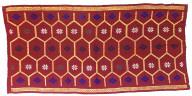 Decorative commercial textile. Indonesia