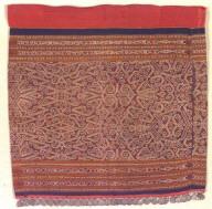 Textile, woman's skirt. Malaysia