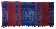 Textile, woman's sarong, hoba. Indonesia