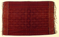 Textile, semba, man's shoulder cloth. Indonesia