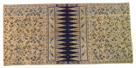 Textile, man's sarong. Indonesia