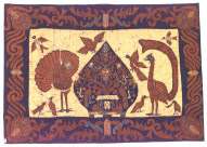 Textile, wall hanging, tourist art?. Indonesia