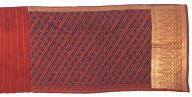 Textile, kain (lower body wrap) or selendang (shoulder cloth). Indonesia