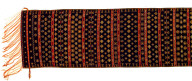 Textile, sapang, shoulder cloth. Indonesia