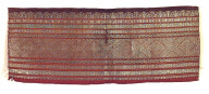 Textile, salendang ends. Indonesia