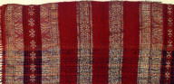 Textile, salendang, shoulder cloth. Indonesia