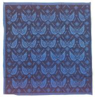 Textile, merong, headcloth. Indonesia