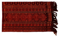 Textile, 'utang mitang, panel. Indonesia