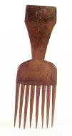 Luba (Zaire) comb