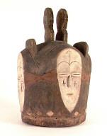 Kwele (Gabon) four-faced mask