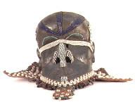 Kuba (Zaire) circumcision mask