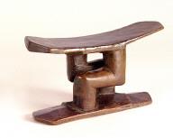 Songye or Kuba (Zaire) headrest