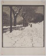 Winter (Hohe Warte in Vienna)