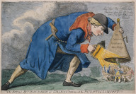 The Royal Extinguisher or Gulliver Putting out the Patriots of Lilliput!!!
