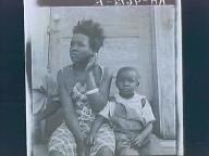 Rural Georgia Cross road store & Negro mother