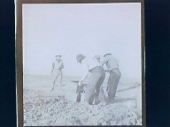 Asparagus labor camp & field workers
